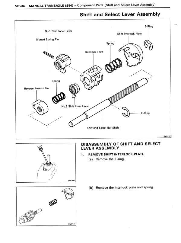 car won shift into gear manual